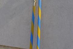 összecsavarható zászlórúd