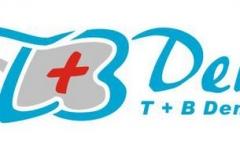T+B Dent fogászat logója