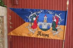 zászlóhímzés