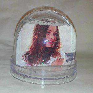 csillámos hógömb, saját fotós hógömb, fényképes hógömb, fényképes hógömb Szombathely, hógömb készítés Szombathely
