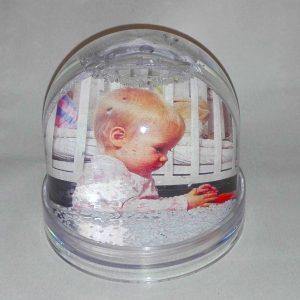 hógömb saját fotóból, fényképes hógömb, fényképes hógömb Szombathely, hógömb készítés Szombathely